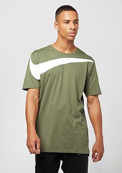 DRPTL Oversized Swoosh medium olive/white