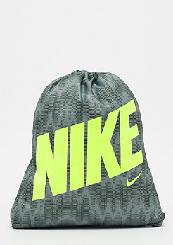 NIKE Graphic Gym Sack (Youth) cool grey/vintage green/volt