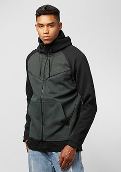 NIKE Tech Fleece Windrunner outdoor green/heather/black
