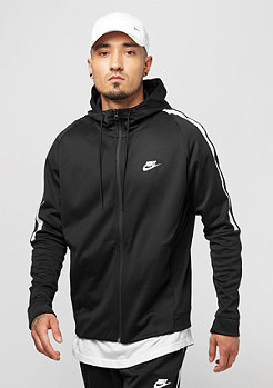 NIKE Hooded PK Tribute black/white/white