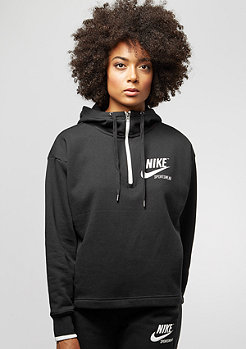 NIKE 1/2 Zip Archive black/sail