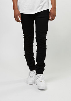 Sixth June Jeans-Hose Elastic Hem black