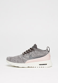 NIKE Air Max Thea Ultra Flyknit midnight fog/midnight fog/red