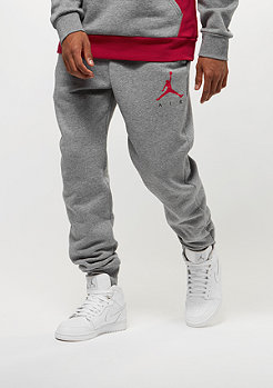 JORDAN Jumpman Air GFX Fleece carbon heather/black/university red