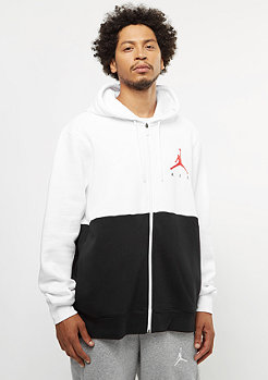 JORDAN Jumpman Air GFX Fleece white/black/university red