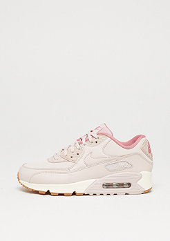 Wmns Air Max 90 Leather silt red/silt red/red stardust/sail