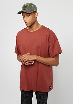 Sixth June T-Shirt Dropshoulder Basic marsala