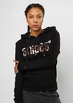 SNIPES Hooded-Sweatshirt black/camo
