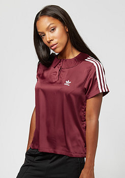 adidas 3 Stripes Polo collegiate burgundy