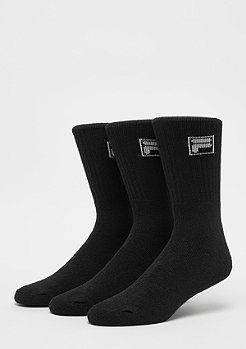 Unisex Sport Socks 3-Pack F9000 black