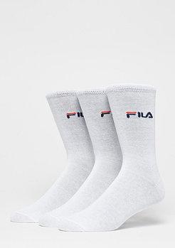 Fila Unisex Street Socks 3-Pack F9630 white