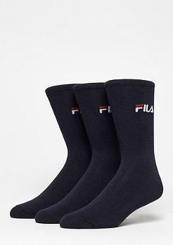 Fila Unisex Street Socks 3-Pack F9630 navy