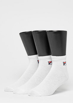 Fila Unisex Street Socks 3-Pack white