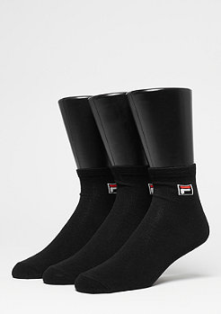 Fila Unisex Street Socks 3-Pack black