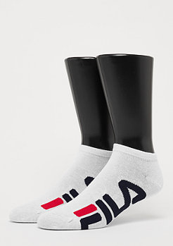 Fila Unisex Invisible Socks 2-Pack F9199 white