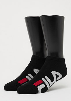 Fila Unisex Invisible Socks 2-Pack F9199 black
