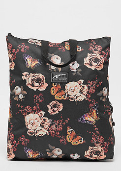 Puma Academy Backpack II black/flower graphic