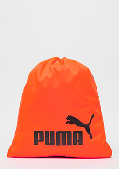 Puma Phase Gymsack shocking orange/black