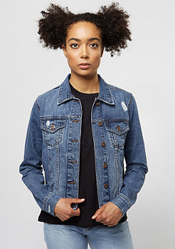 Urban Classics Denim Jacket ocean blue
