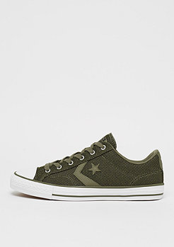 Converse Star Player Herringbone Ox medium olive/white/black