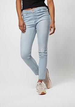 Urban Classics Jeans-Hose High Waist Skinny l.blue