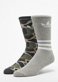 adidas Crew AOP medium grey heather