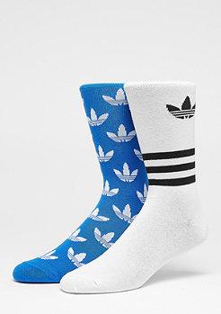 adidas Crew AOP 2er Pack blue