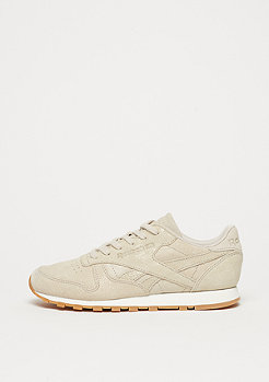 Reebok CL LTHR CLEAN EXOTIC stucco/chalk/sand stone/gum