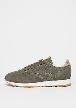 Reebok Classic Leather EBK army green/chalk/sand stone