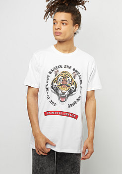 Criminal Damage CD Tee Battle white/multi