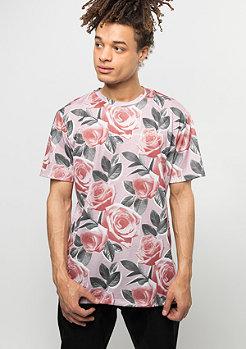 Criminal Damage T-Shirt Bloom pink