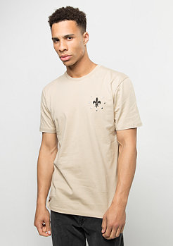 Criminal Damage T-Shirt Caliber nude