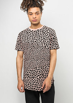 Criminal Damage T-Shirt Jaguar pink/black