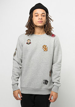 Criminal Damage Sweatshirt Emblem grey/multi