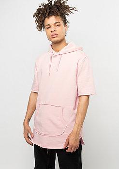 Criminal Damage T-Shirt Cut Hood Baller dusty pink