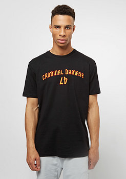 Criminal Damage CD Tee Savage 47 black/multi
