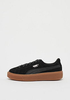 Suede Platform Animal black