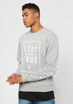 Crewneck heather grey