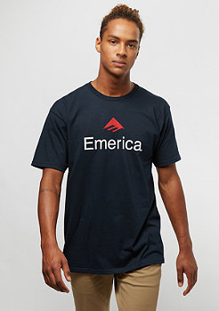 Emerica Skateboard Logo navy/red