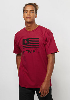 Emerica Pure Flag cardinal