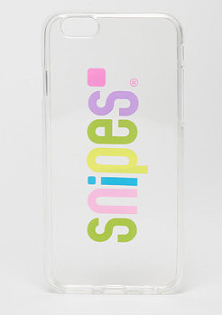 SNIPES Basic Case Rainbow Basic Logo Case iPhone 6s transparent