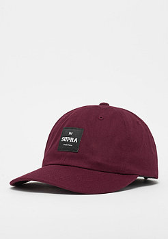 Supra Label Slider burgundy