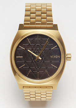 Nixon Time Teller gold/black/stamped