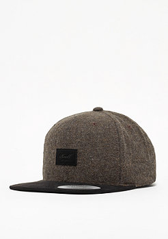 Reell Suede Cap brown herringbone
