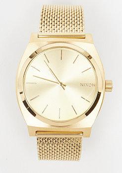 Nixon Time Teller Milanese all gold