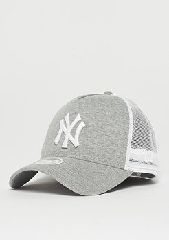 New Era Jersey Essential Trucker New York Yankees grey/optic white