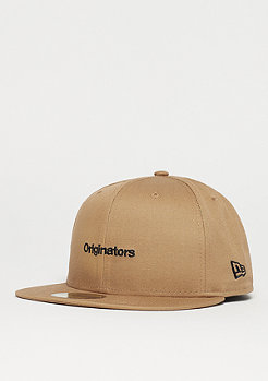 New Era NE True Originators 5950 khaki/black