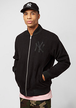 New Era Melton Bomber MLB New York Yankees black