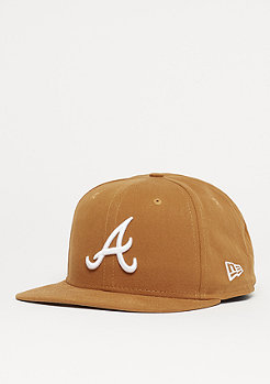 New Era 9Fifty Original Fit MLB Atlanta Braves rust/o.white