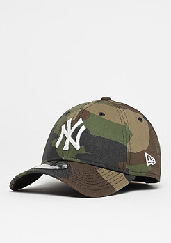 New Era 39Thirty MLB New York Yankees woodland camo/o.white